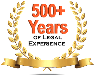 Geraci Law 500 Years Combined Legal Experience