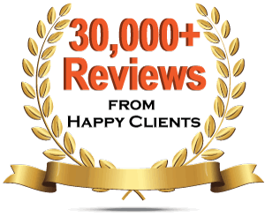 Geraci Law Over 30,000 5-Star Reviews
